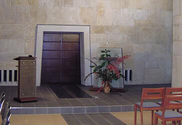 Architekturbüro Dresden Dr. Konow Trauerhalle